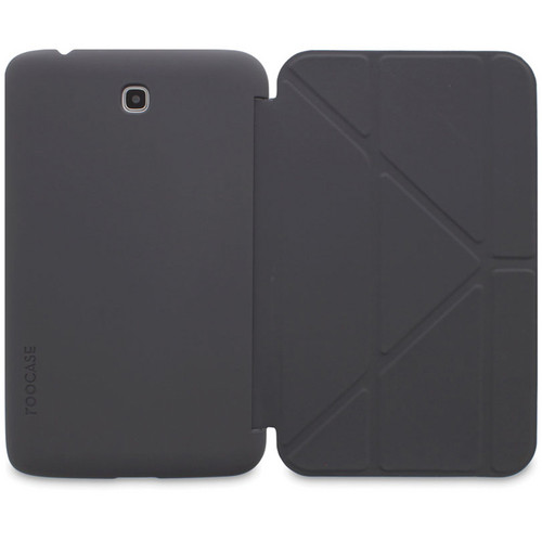 """rooCASE Origami SlimShell Case for 7"""" Galaxy Tab 3 Tablet (Gray)"""