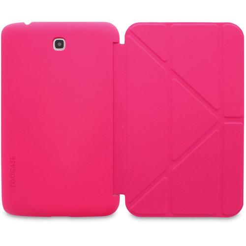 "rooCASE Origami SlimShell Case for 7"" Galaxy Tab 3 Tablet (Magenta)"