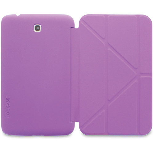 "rooCASE Origami SlimShell Case for 7"" Galaxy Tab 3 (Purple)"