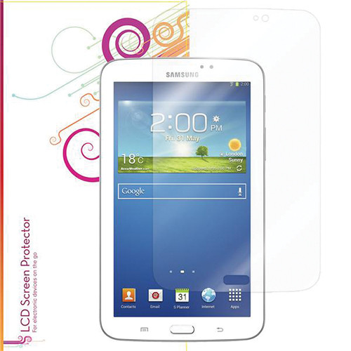 rooCASE Ultra HD Plus Bubble Free Screen Protector for Samsung Galaxy Tab 3 7""