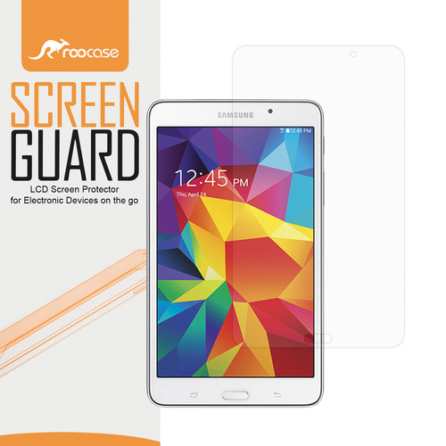 """rooCASE Ultra HD Plus Bubble Free Screen Protector for Galaxy Tab 4 7.0"""""""