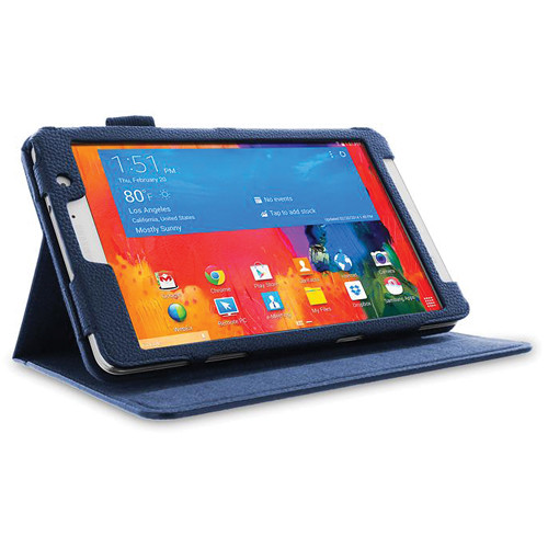 "rooCASE Dual View Folio Case Cover for Samsung Galaxy Tab Pro 8.4"" (Navy Blue)"