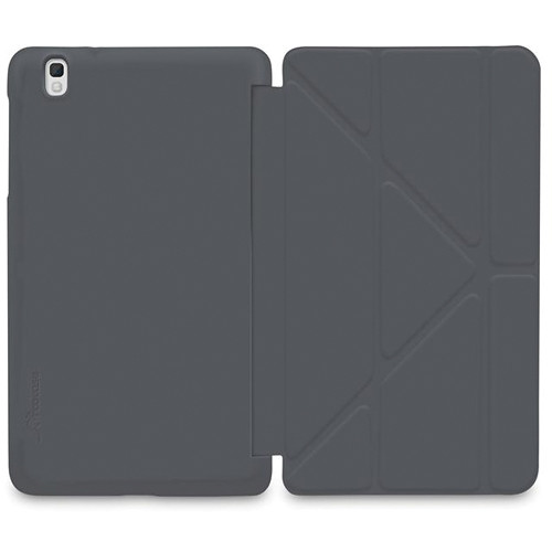 "rooCASE Origami SlimShell Case for Samsung Galaxy Tab Pro 8.4"" (Gray)"
