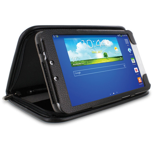 "rooCASE Executive Portfolio Case for Samsung Galaxy Tab 3 8.0"" (Black)"