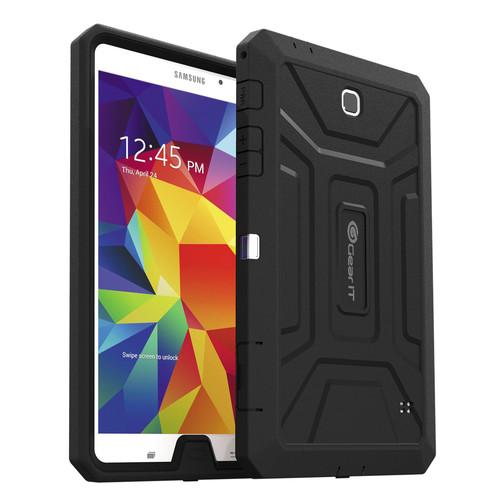 "GearIt SHOXX TPU/PC Hybrid Tablet Case for Samsung Galaxy Tab 4 8"" (Black)"
