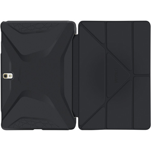 rooCASE Origami 3D Case for Samsung Galaxy Tab S 10.5 (Granite Black / Cool Gray)