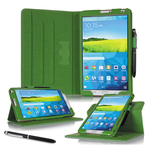 "rooCASE Dual View Folio Case Cover for Samsung Galaxy Tab S 8.4"" (Green)"