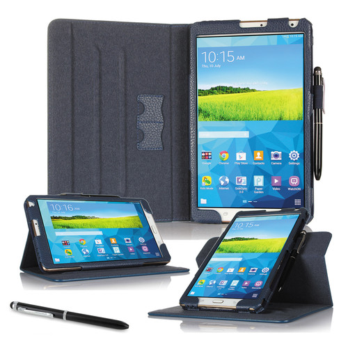 "rooCASE Dual View Folio Case Cover for Samsung Galaxy Tab S 8.4"" (Navy)"