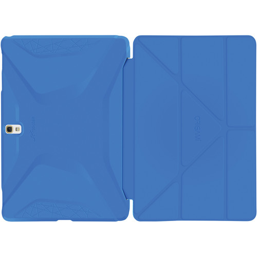 rooCASE Origami 3D Case for Samsung Galaxy Tab S 10.5 (Pacific Blue / Barbados Blue)