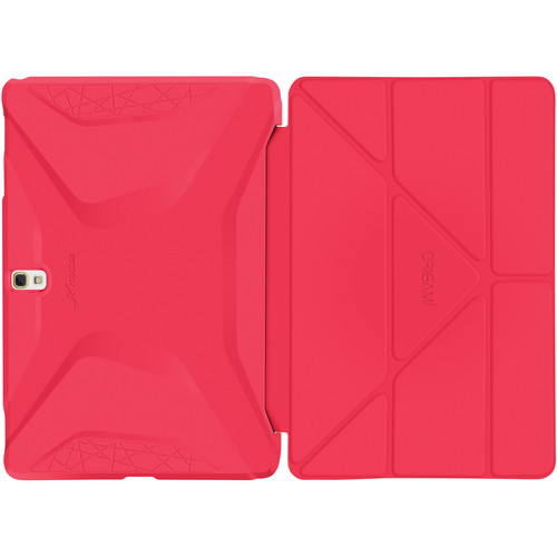 rooCASE Origami 3D Case for Samsung Galaxy Tab S 10.5 (Persian Rose / Ruddy Pink)