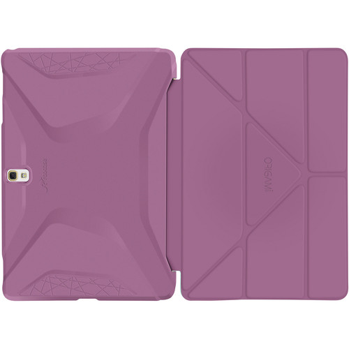 rooCASE Origami 3D Case for Samsung Galaxy Tab S 10.5 (Radiant Orchid / Mint Candy)