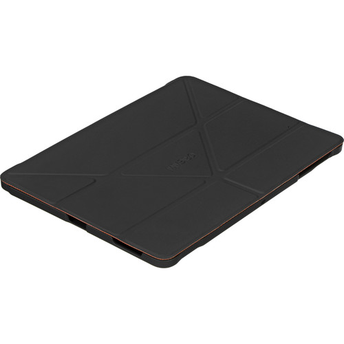 rooCASE Origami 3D Case for Samsung Galaxy Tab S 10.5 (Space Gray / rooCASE Orange)