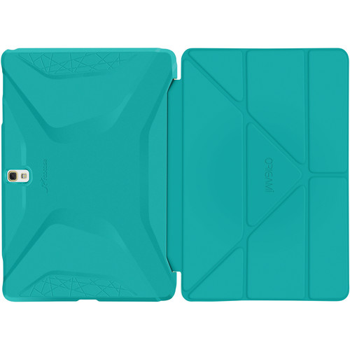 rooCASE Origami 3D Case for Samsung Galaxy Tab S 10.5 (Turquoise Blue / Mint Candy)