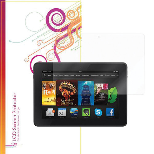 rooCASE Ultra HD Plus Bubble Free Screen Protector for Amazon Kindle Fire HDX 7""