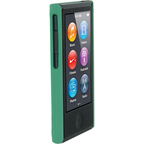 rooCASE Ultra Slim Matte Shell Case Cover for Apple iPod nano 7th Generation (Green)