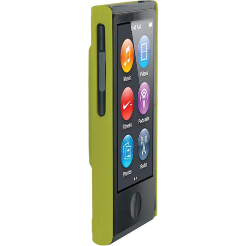 rooCASE Ultra Slim Matte Shell Case Cover for Apple iPod nano 7th Generation (Yellow)