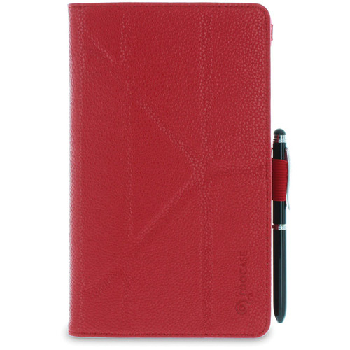rooCASE Origami Folio Case Cover for Google Nexus 7 FHD (Red)