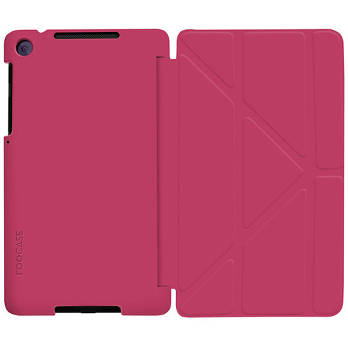 rooCASE Origami SlimShell Case Cover for Google Nexus7 FHD 2nd Generation 2013 Model (Magenta)