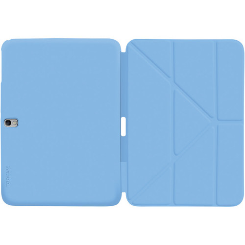 """rooCASE Origami SlimShell Case Cover for Samsung Galaxy Tab Pro/Note 10.1"""" (2014 Edition) (Blue)"""