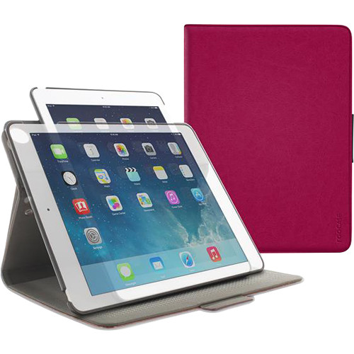 rooCASE Orb Folio Case for Apple iPad Air 2 (Magenta)