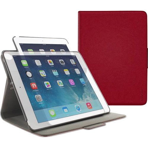 rooCASE Orb Folio Case for Apple iPad Air 2 (Red)