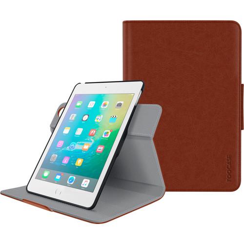 rooCASE Orb Folio Case for Apple iPad mini 4 (Brown)