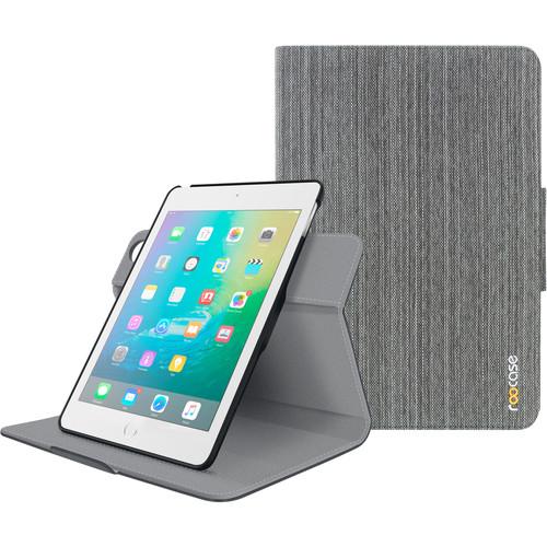 rooCASE Orb Folio Case for Apple iPad mini 4 (Canvas Gray)