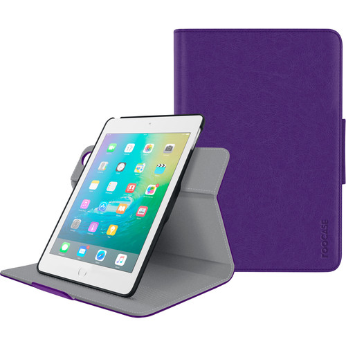 rooCASE Orb Folio Case for Apple iPad mini 4 (Purple)