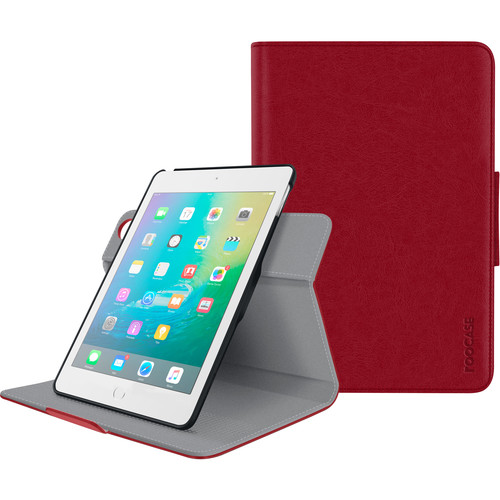 rooCASE Orb Folio Case for Apple iPad mini 4 (Red)