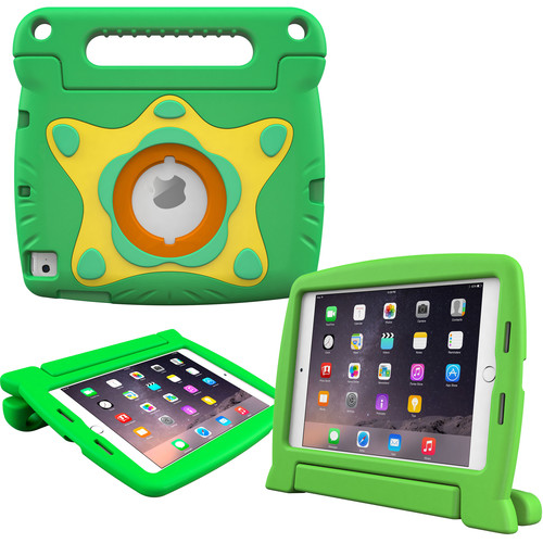 rooCASE Orb Starglow Kids Case for iPad mini 4 (2015) (Green)