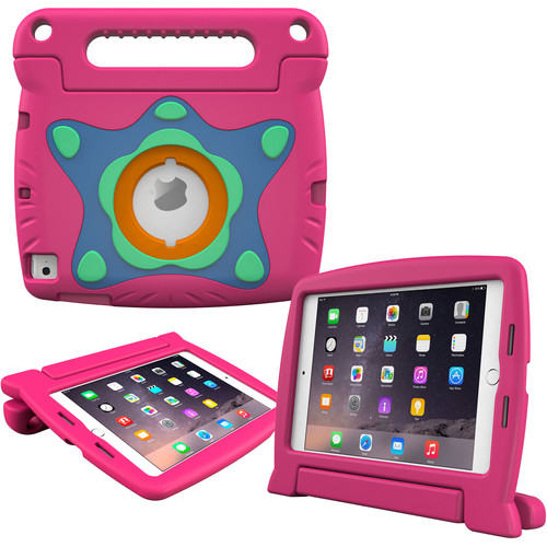 rooCASE Orb Starglow Kids Case for iPad mini 4 (2015) (Magenta)