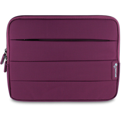 "rooCASE XTREME Super Foam Sleeve Cover for Apple iPad/10.1"" Tablet (Purple)"