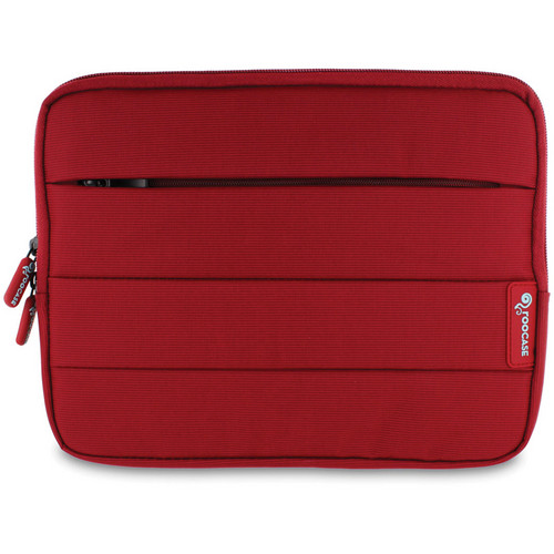 "rooCASE XTREME Super Foam Sleeve Cover for Apple iPad/10.1"" Tablet (Red)"