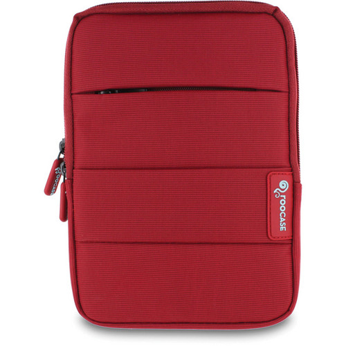"rooCASE XTREME Super Foam Sleeve Cover for Apple iPad mini / 7"" Tablet (Red)"