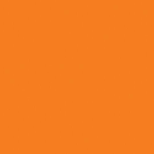 "Rosco E-Colour+ #287 Double CT Orange (21 x 24"") Sheet"