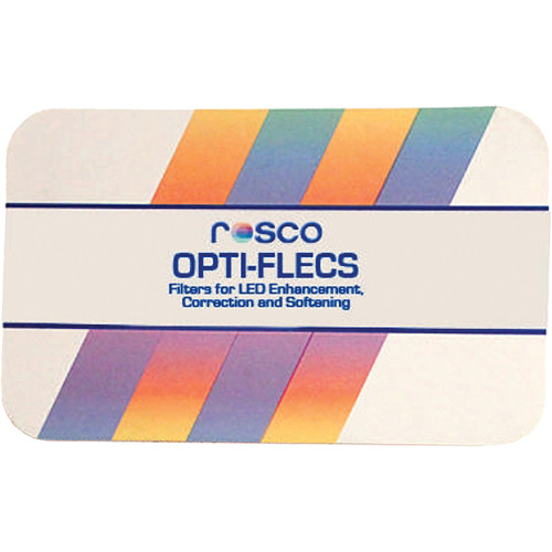 "Rosco OPTI-FLECS Soft Rouge Filter (11.8 x 11.8"" Sheet)"