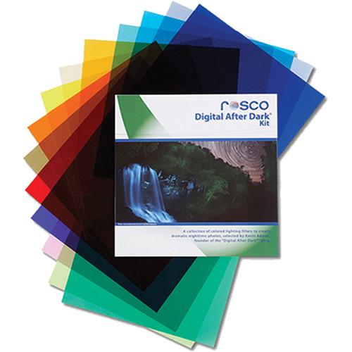 "Rosco Digital After Dark Flash Pack (1.5 x 5.5"" Sheets)"