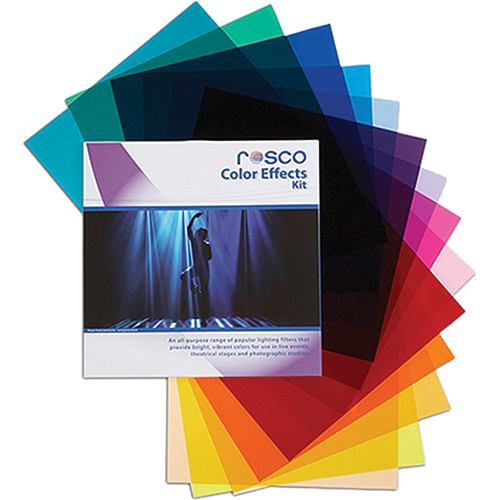"Rosco Color Effects Filter Kit (20 x 24"")"