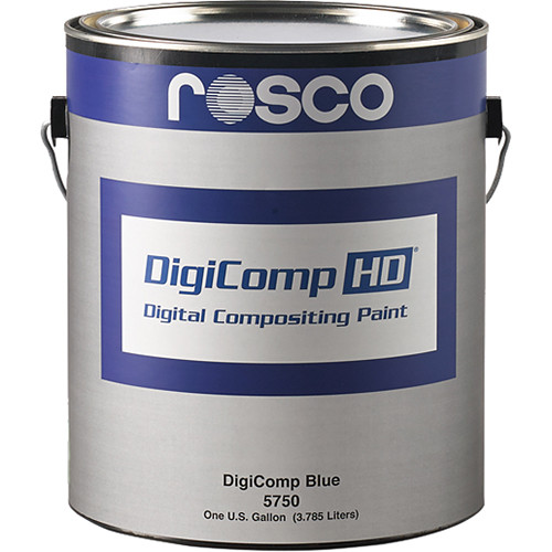 Rosco DigiComp HD Digital Compositing Paint (Blue, 5 Gallons)