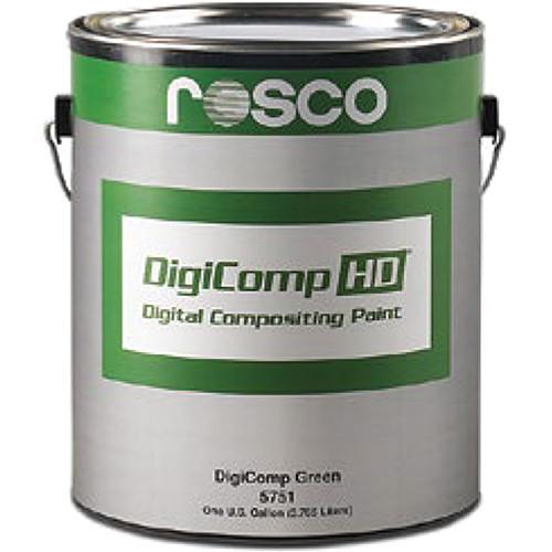 Rosco DigiComp HD Digital Compositing Paint (Green, 1 Gallon)