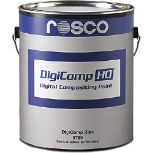 Rosco DigiComp HD Digital Compositing Paint (Blue, 1 Gallon)