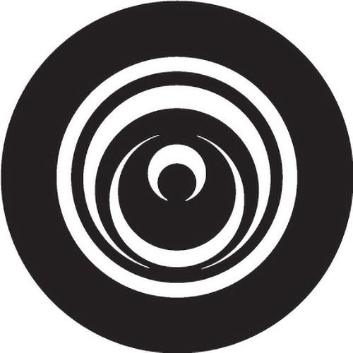 Rosco Cut Circles Crop Circle B/W Glass Gobo (A Size)