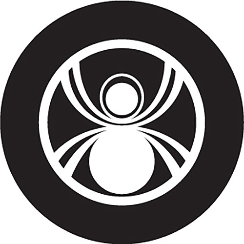 Rosco Spider Crop Circle B/W Glass Gobo (B Size)
