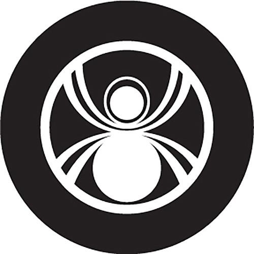 Rosco Spider Crop Circle B/W Glass Gobo (Custom Size)