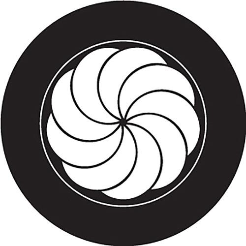 Rosco Shell Crop Circle B/W Glass Gobo (Custom Size)