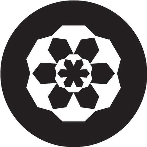 Rosco Block Crop Circle B/W Glass Gobo (B Size)