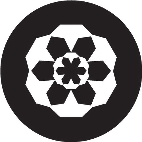 Rosco Glass Gobo/ Block Crop Circle (Custom Size)
