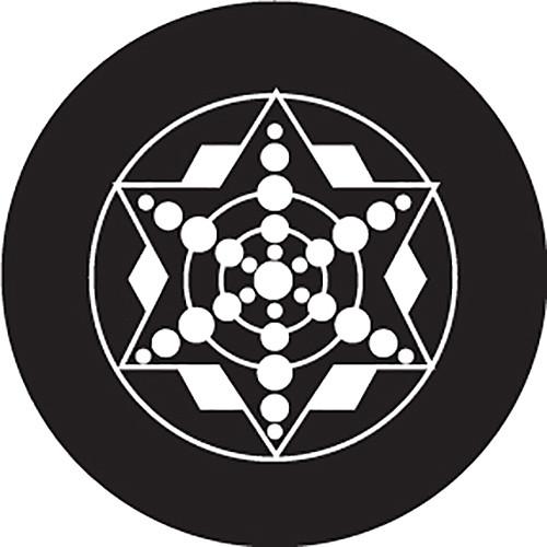 Rosco Five-Point Star Crop Circle B/W Glass Gobo (Custom Size)