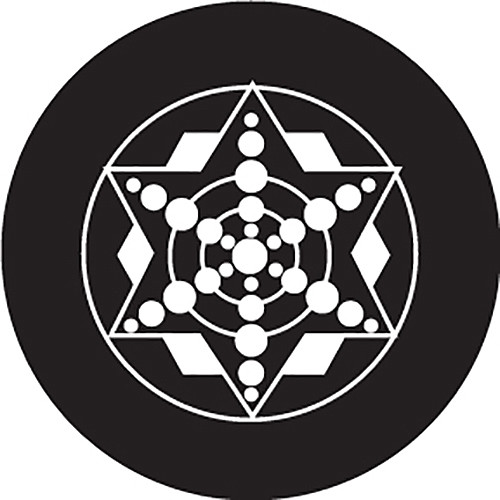 Rosco Glass Gobo/ Five Point Star Crop Circle (Custom Size)