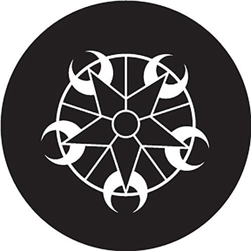 Rosco Star Cycle Crop Circle B/W Glass Gobo (A Size)
